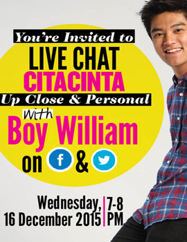 CC Live Chat With Boy William