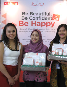 Keseruan Be Beautiful, Be Confident & Be Happy with Cita Cinta and Bio Oil!