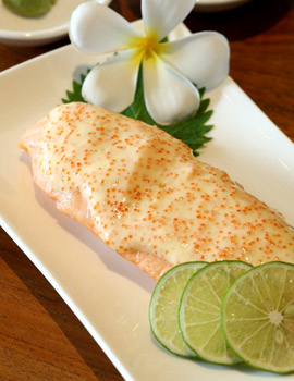Nikmatnya Salmon Hawaii di Aloha Terrace Hawaiian