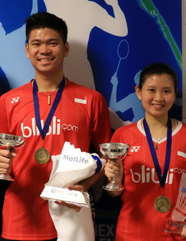 Indonesia Tersenyum di Yonex All England Open 2016